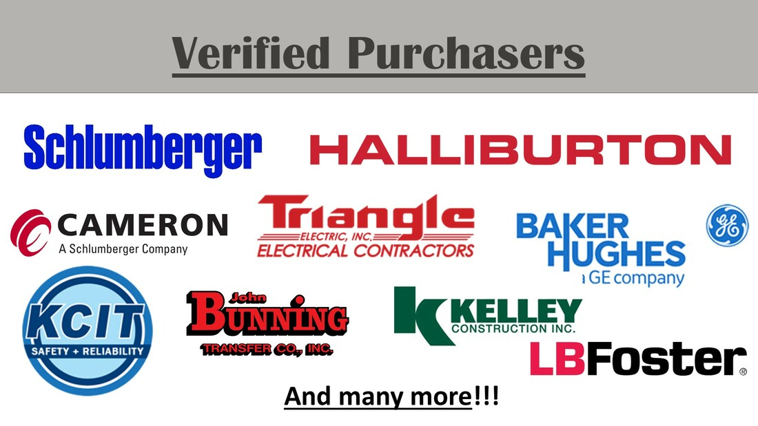 image of the logos of verified purchasers